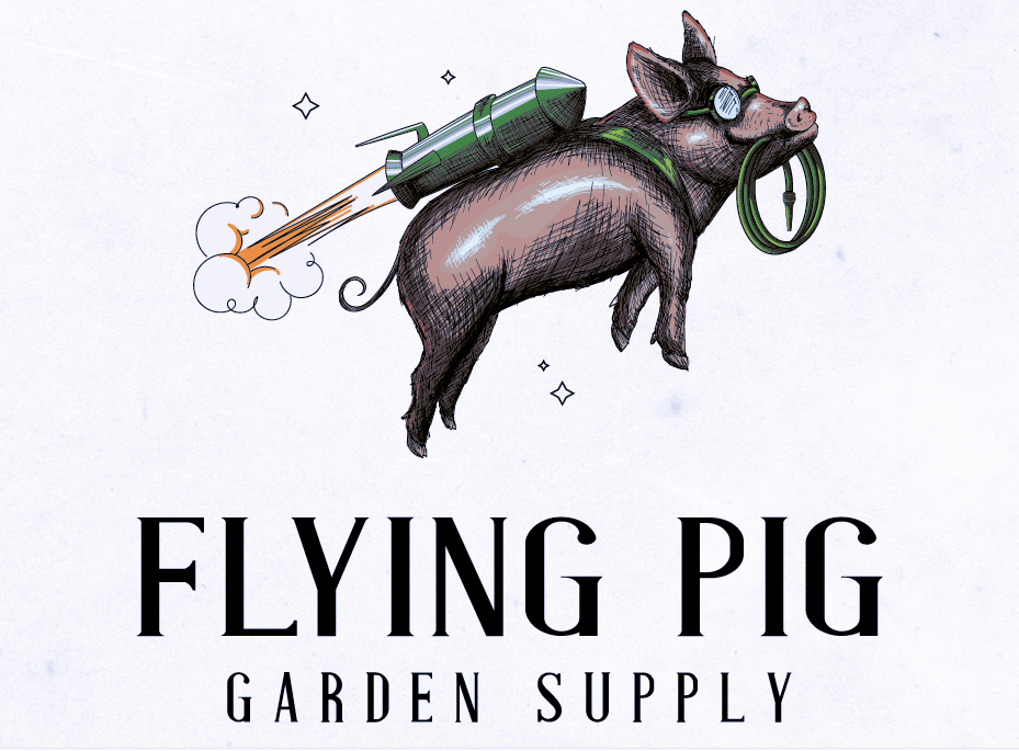 Flying Pig Garden Supply logo