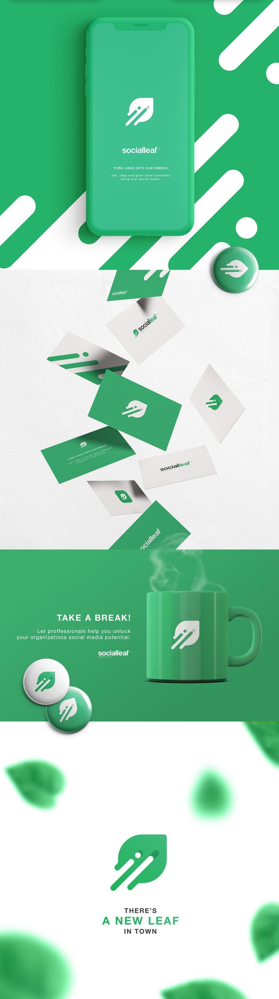 Social Leaf Branding