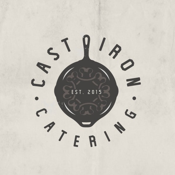 Cast Iron Catering logo
