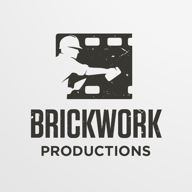 Movie reel production  logo
