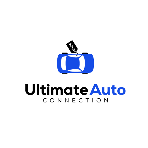 modern illustrated car  logo