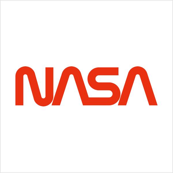 nasa lettermark logo monogram