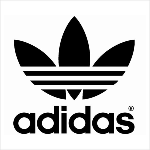 Adidas abstract logo mark