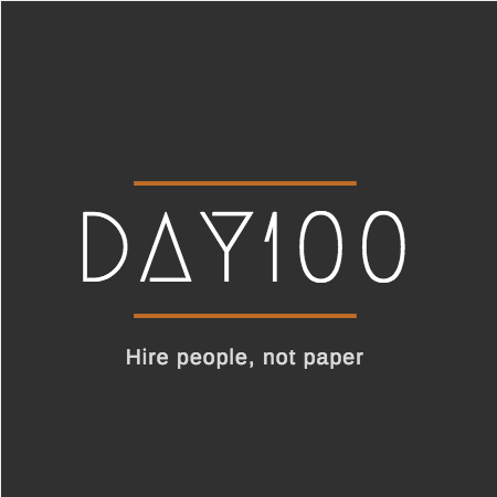 Canva day100  logo