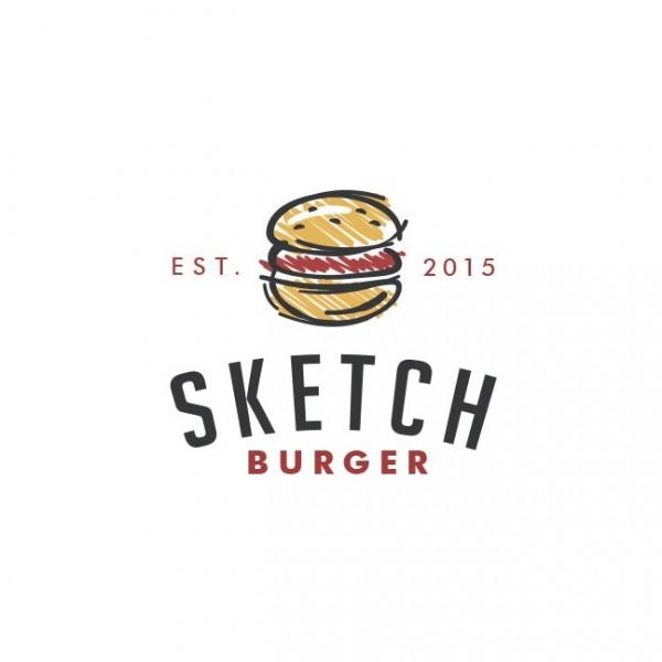 Sketch Burger  logo