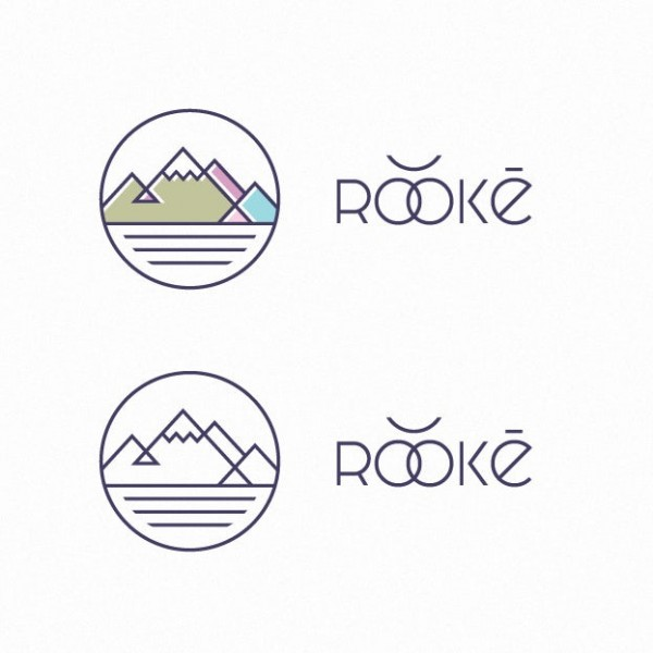 mountain pastel logo