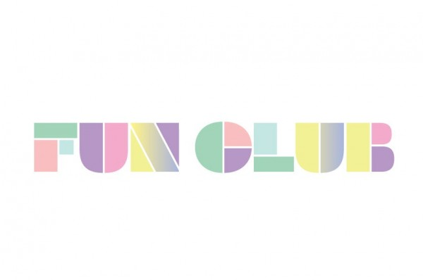 fun club pastel logo