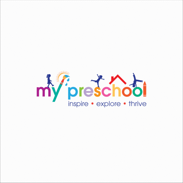 colorful preschool logo
