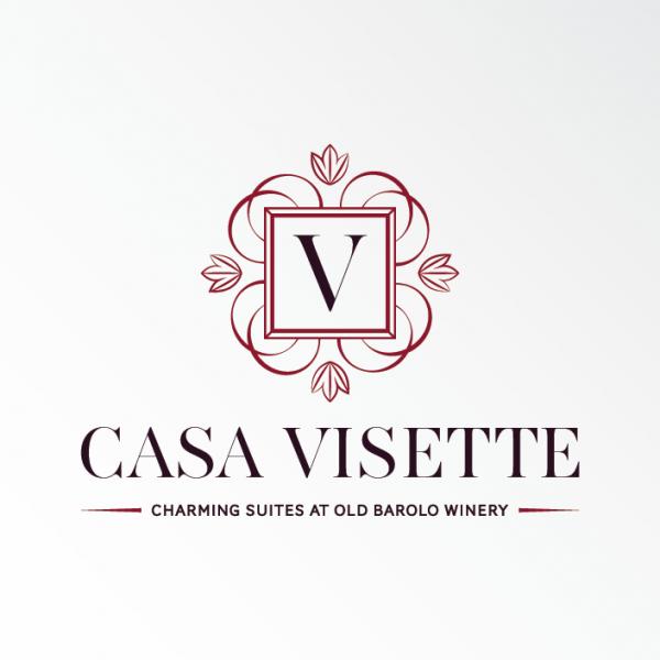 elegant historical emblem hotel  logo