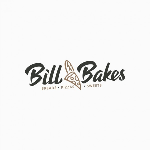 Bill Bakes Pizza Baguette logo