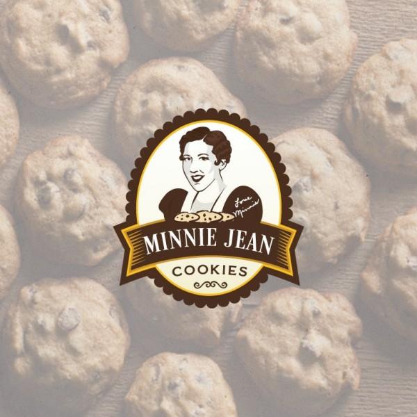 Minnie Jean Cookies  logo
