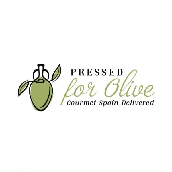 Pressed for olive logo