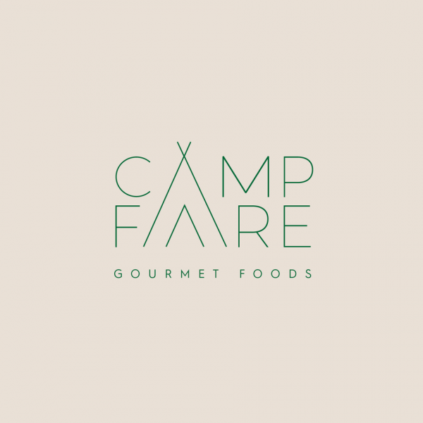 Camping meal gourmet line  logo