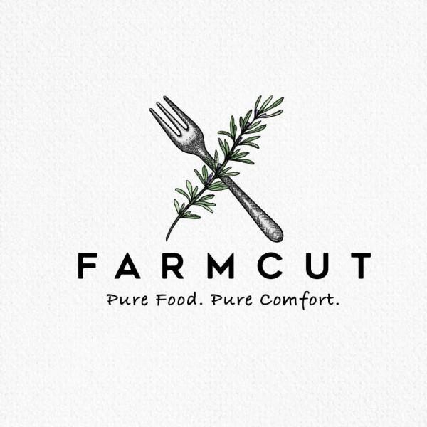 farmcut food  logo