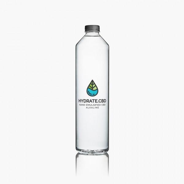blue green cbd drink logo