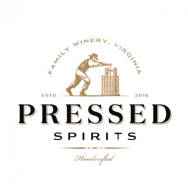 illustrated man distilling logo