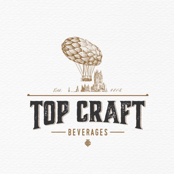 vintage beer  logo