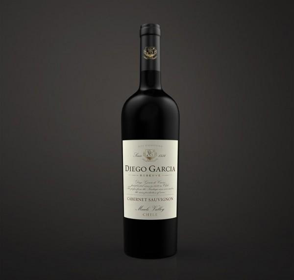 Diego Garcia Reserve wine  logo