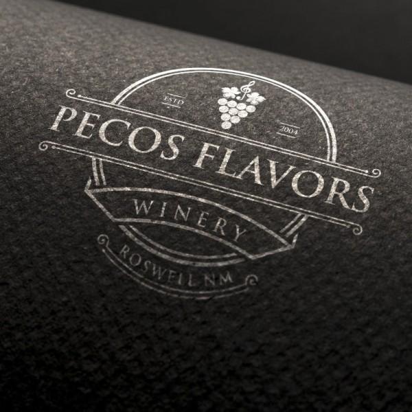 Pecos Flavors wine  logo