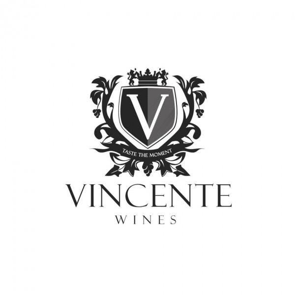 Vincente wine  logo