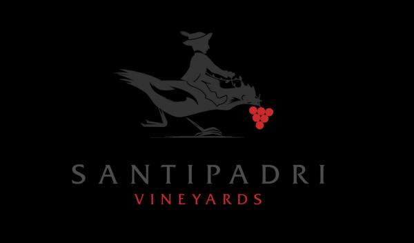 Santipadri Vineyards wine  logo