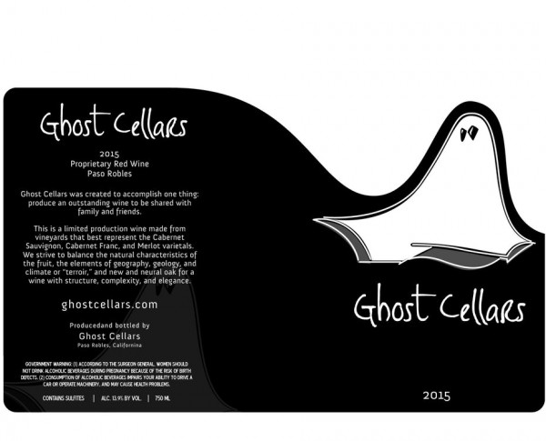 Ghost Cellars wine  logo