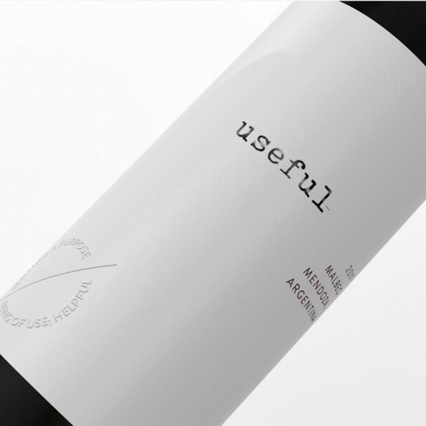 minimalist wine  logo