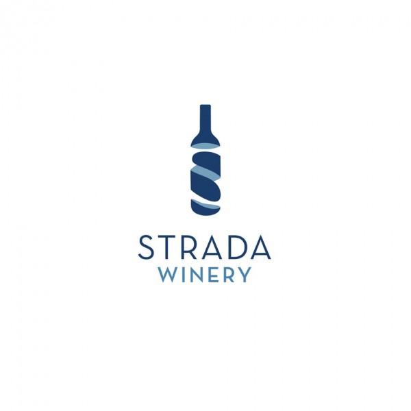 Strada Wine  logo
