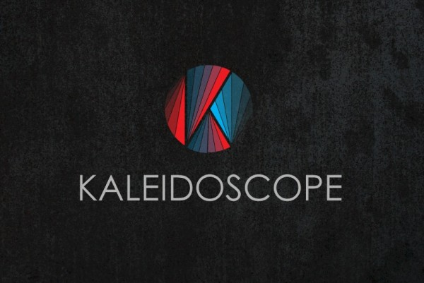A futuristic  logo  using polygons