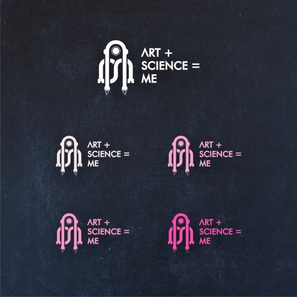 A robotic futuristic  logo