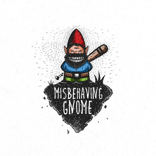 misbehaving gnome  logo