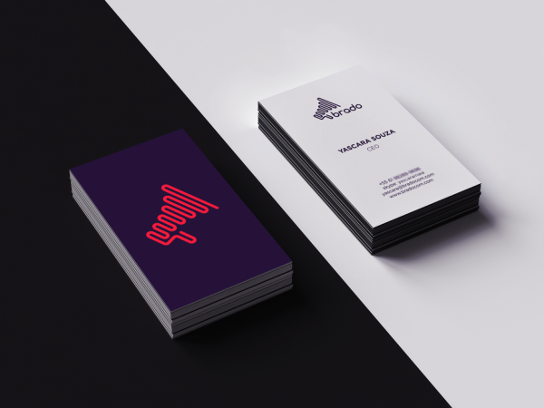 Brado business card design