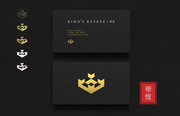 King's Estate Asia identity pack