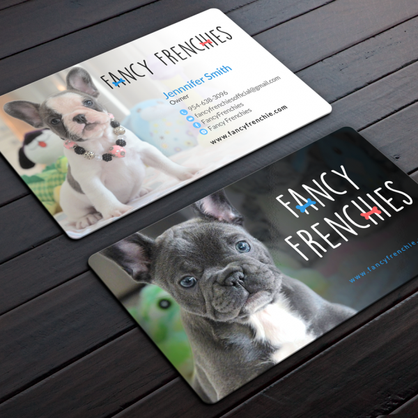 Puppy business cards