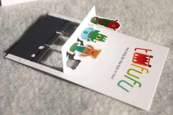 Tofufu business card