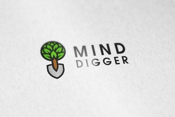 Mind Digger business card