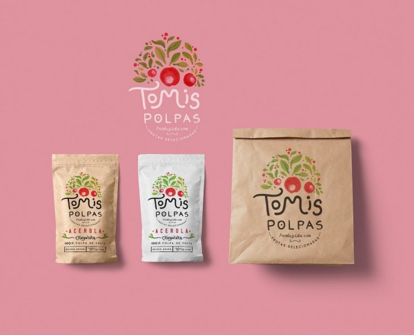 Packaging design for Tomis Polpas