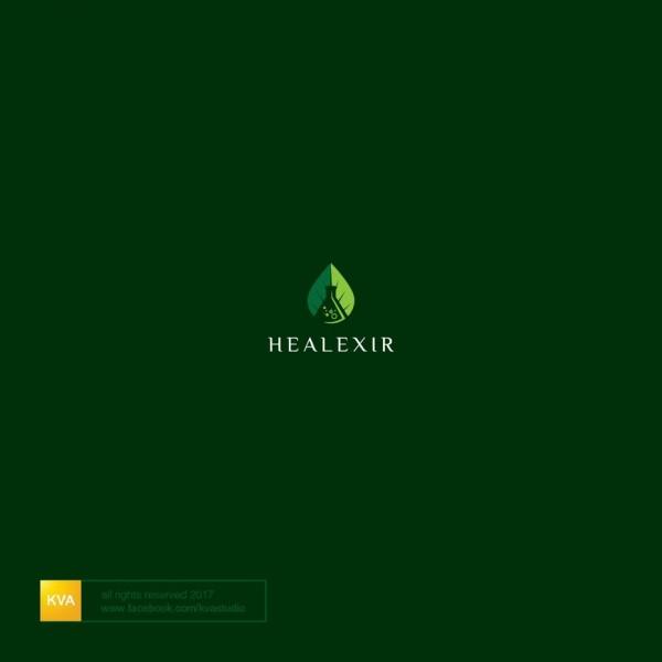 Healthy lifestyle logo
