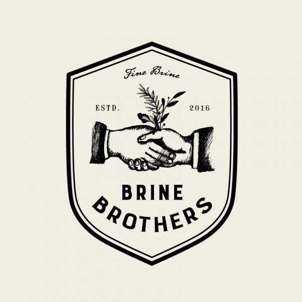 handshake Brine Brothers logo