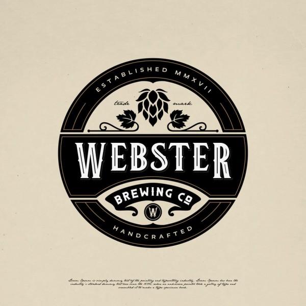 Webster Brewing Co emblem