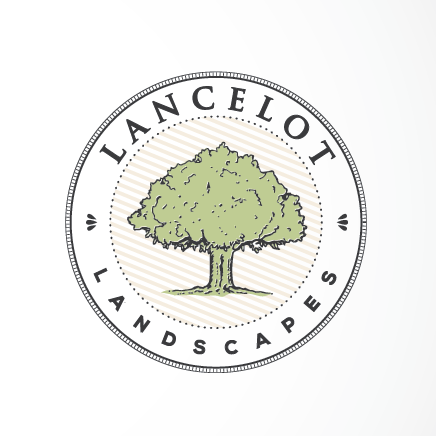 tree and text for landscaping company  logo