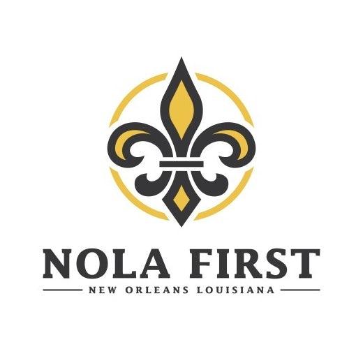 fleur de lis logo for NOLA First