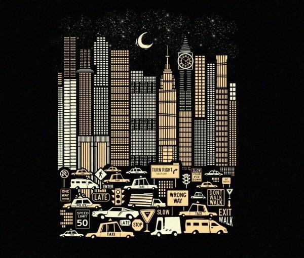 urban cityscape illustration