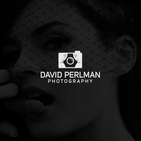 Photography logo with modern line work
