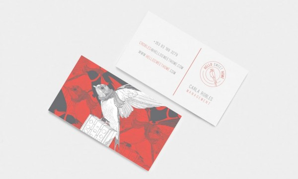 Hello Sweet Home business card