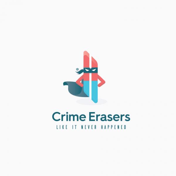 crime erasers  logo