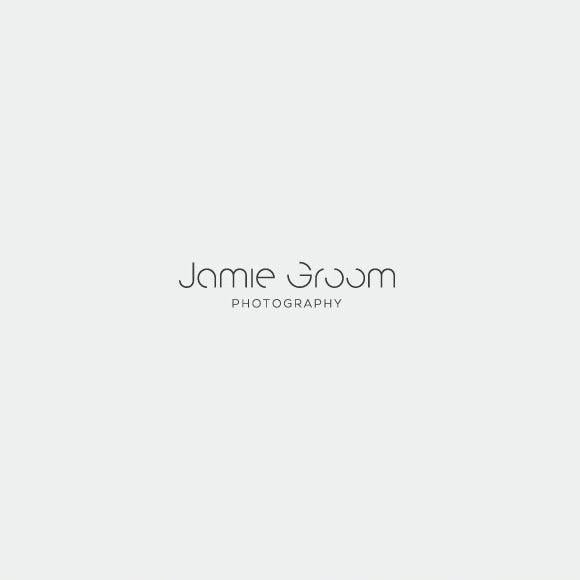 Simple typographic  logo