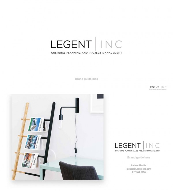 Legent Inc. brand style guide