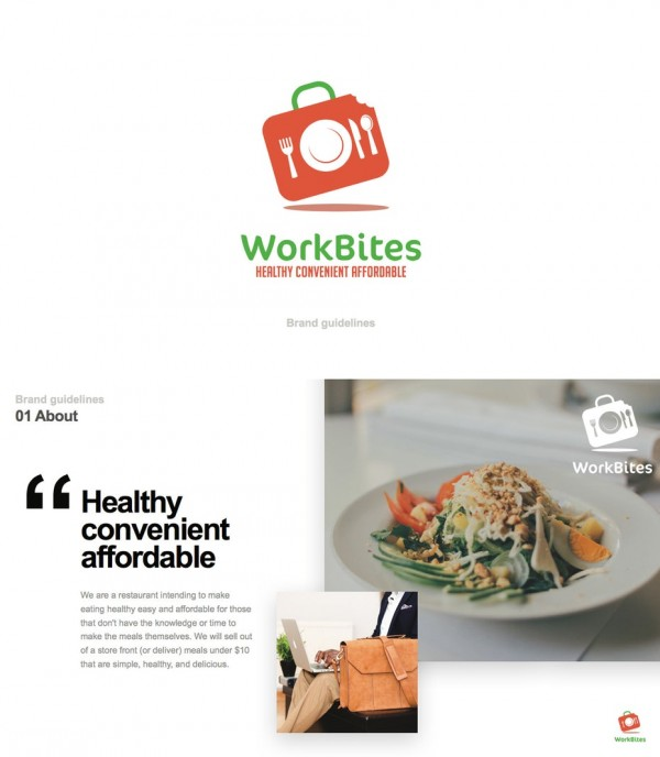 WorkBites brand style guide
