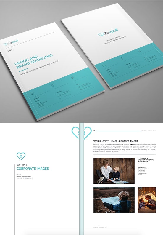 LifeVault brand style guide